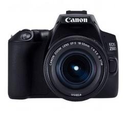 EOS 250D Black 18-55 STM + 50 1.8S Canon