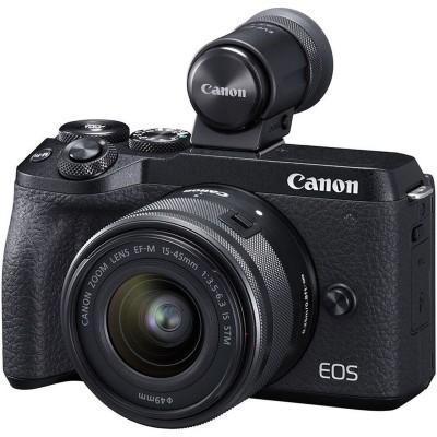 EOS M6 Mark II + EF-M15-45mm + EVF-DC2 Canon
