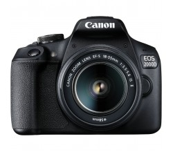 EOS 2000D 18-55 IS + LP-E10 Canon