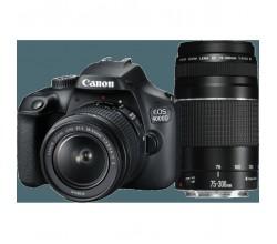 EOS 4000D 18-55 DC + 75-300 DC Canon