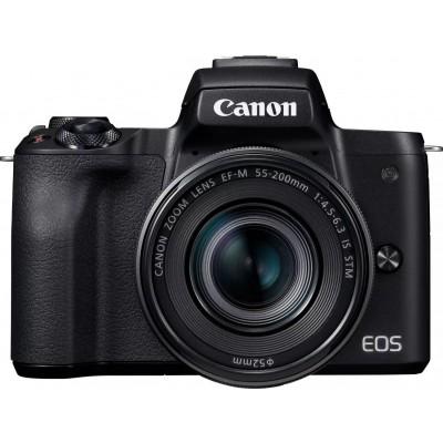 EOS M50 Black M15-45 S + M55-200 Canon