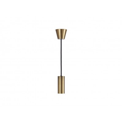 Sylcone Pendant Brass