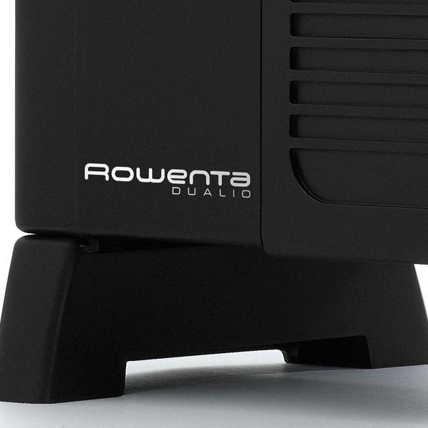 IR5010F1 Dualio 2 Zwart Rowenta