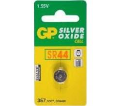 Horlogebatterij 357 (SR44W) High drain, fournituur GP Batteries