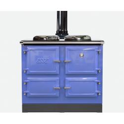 990WN houtkachel powder blue
