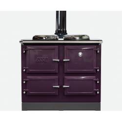 990WN houtkachel dusky violet