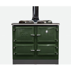 990WN houtkachel classic green