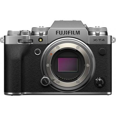 X-T4 Body Zilver  Fujifilm