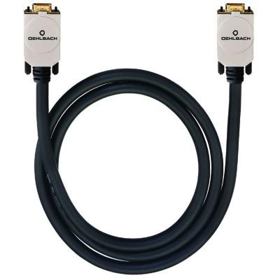 9001 VGA kabel DB15/DB15 m/m 150m zwart Oehlbach