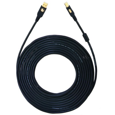 9131 USB kabel A/B 150m zwart Oehlbach