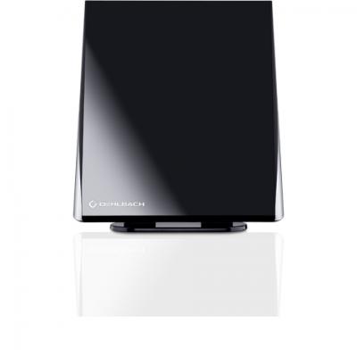 17210 Digital Flat 2.5 Antenne DVB-T zwart Oehlbach