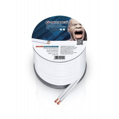 192 câble HP 2x25mm² 10m blanc Oehlbach