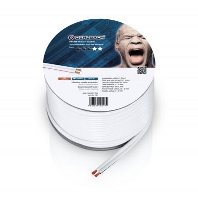 197 câble HP 2x15mm² 30m blanc Oehlbach