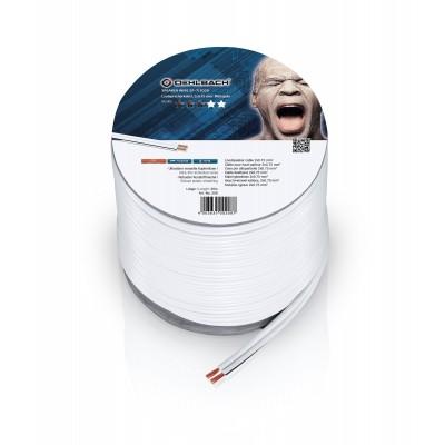 208 câble HP 2x075mm² 30m blanc Oehlbach