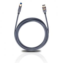 9222 USB Max A/B 3.0 kabel 5m  Oehlbach