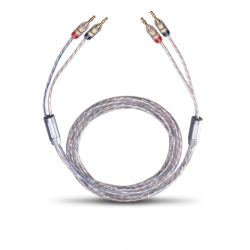 10737 Twin mix two LS kabel 2x6mm² 3m banaan  Oehlbach