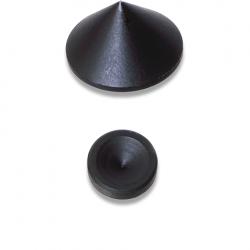 55036 Mini Spikes zwart (4pc)  Oehlbach