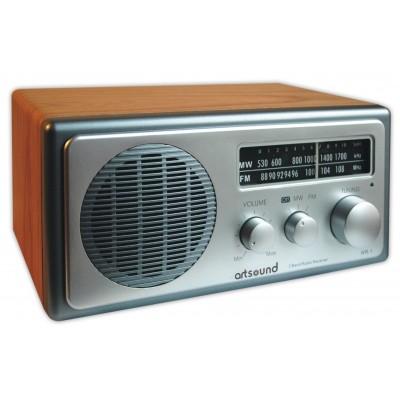WR1 retro radio AM/FM noyer Sangean