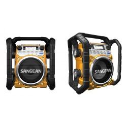 U4 digitale werfradio BT geel Sangean