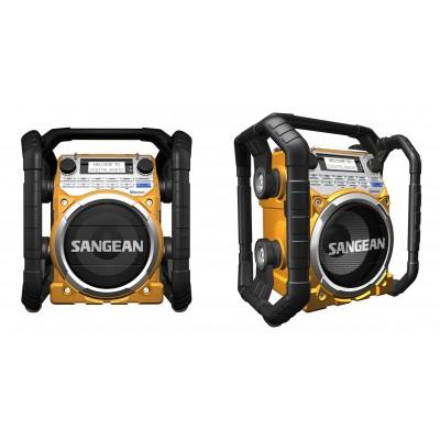 U4 radio chantier numérique BT jaune Sangean