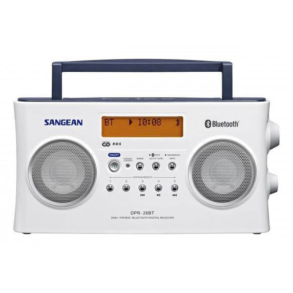 Sangean Radio DPR-26BT digitale radio BT stereo DAB+ wit