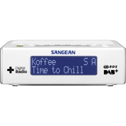 DCR-89 digitale clock radio DAB+ wit