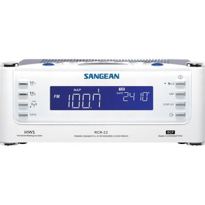RCR-22 radio-réveil numérique blanc Sangean