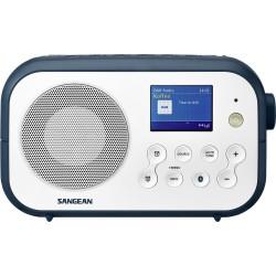 DPR-42 receiver DAB+/FM wit- donkerblauw TRAVELLER 420