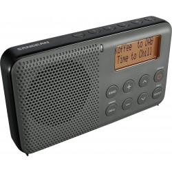 DPR-64 receiver DAB+/FM grijs/zwart