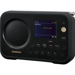 DPR-76 digitale stereo receiver DAB+/FM zwart/zwart