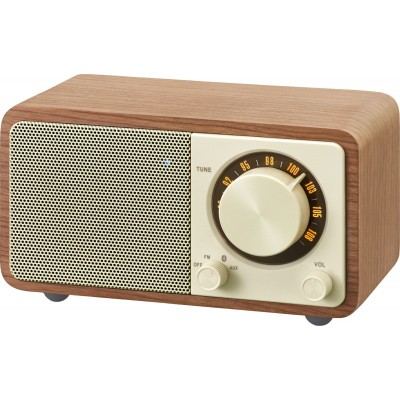 WR-7 (Genuine Mini) radio FM/BT Noisette Sangean