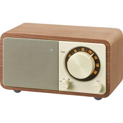 WR-7 (Genuine Mini) houten cabinet radio FM/BT walnut Sangean
