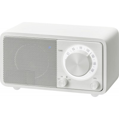 WR-7 (Genuine Mini) radio FM/BT blanc Sangean