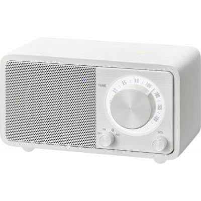 WR-7 (Genuine Mini) houten cabinet radio FM/BT wit Sangean