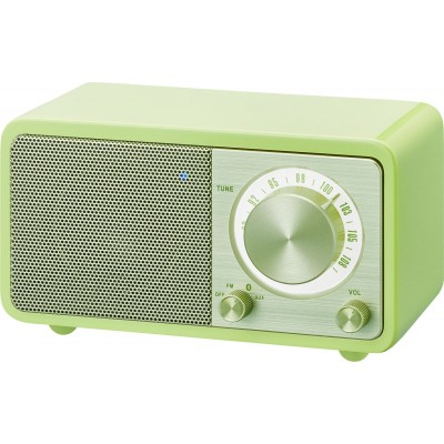 WR-7 (Genuine Mini) radio FM/BT vert Sangean