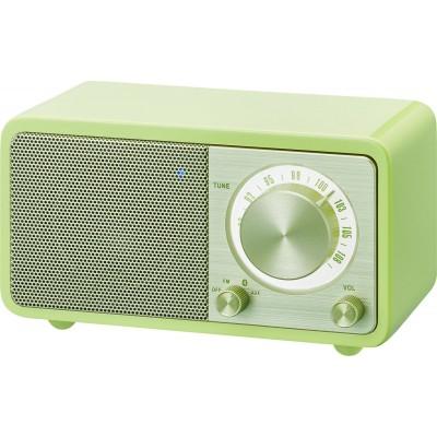 WR-7 (Genuine Mini) houten cabinet radio FM/BT groen Sangean