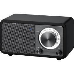 WR-7 (Genuine Mini) houten cabinet radio FM/BT zwart
