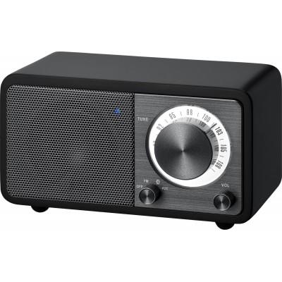 WR-7 (Genuine Mini) houten cabinet radio FM/BT zwart Sangean