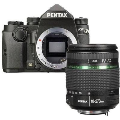 KP Zwart + 18-270mm  Pentax