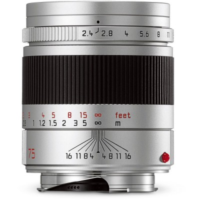 Summarit-M 75mm f/2.4 Silver Leica