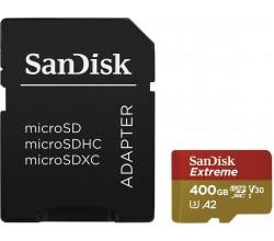 MicroSDXC Extreme 400GB 160MB/s Sandisk