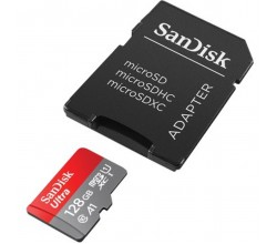 MicroSDXC Ultra Android 128GB 120MB/s Class 10 A1 Sandisk
