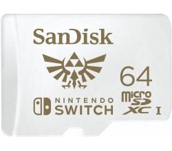 MicroSDXC Extreme Gaming 64GB 100/60MB Sandisk
