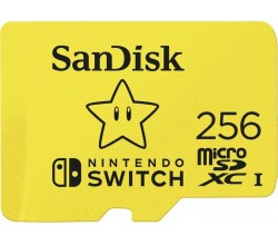 MicroSDXC Extreme Gaming 256GB 100/90MB Sandisk
