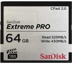 CFast Extreme Pro 2.0 64GB VPG 130 525MB/s Sandisk