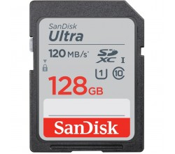 Ultra 128GB SDXC Memory Card Sandisk
