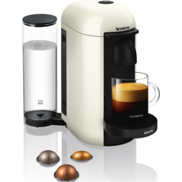 Nespresso Koffiemachine Krups Nespresso Vertuo Plus XN903110 Wit