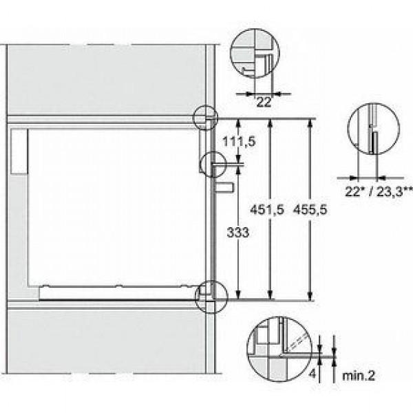 Miele Microgolfoven inbouw M 7244 TC CS