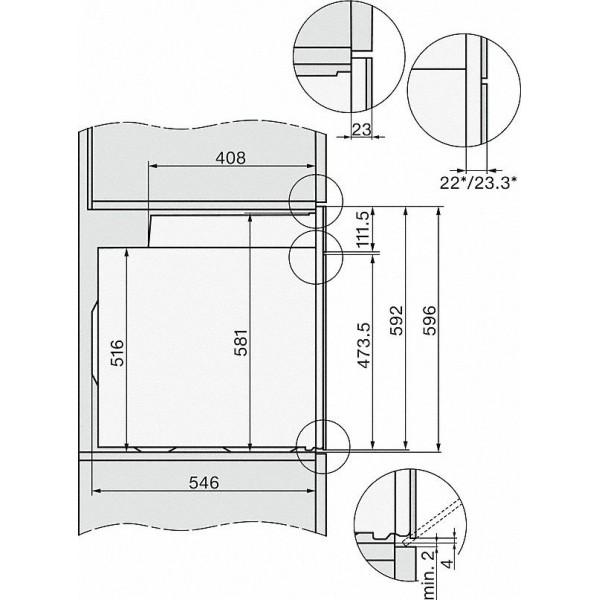 H 2265-1 B CS Miele