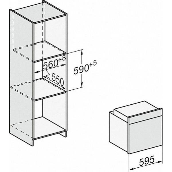 Miele Oven H 7260 B CS